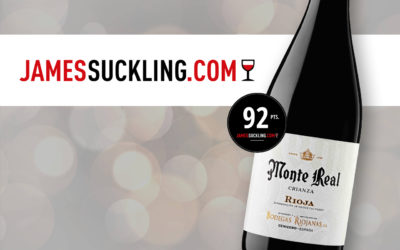 MONTE REAL Crianza 2018, 92 puntos JAMES SUCKLING