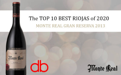 "MONTE REAL GRAN RESERVA 2013, ""The TOP 10 BEST RIOJAS of 2020"""